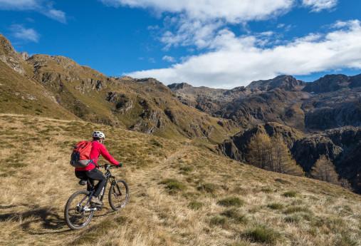 In bicicletta da Aprica alla Val Belviso