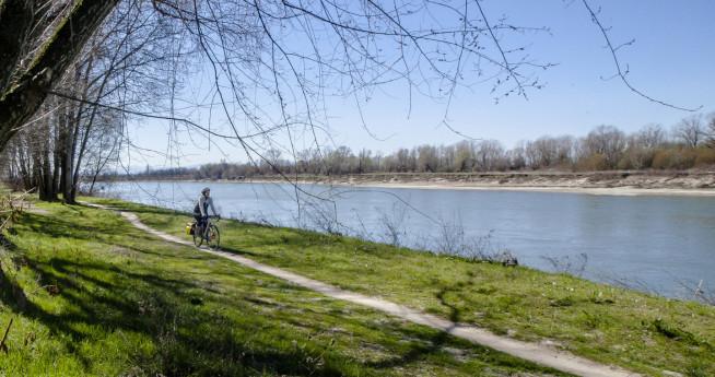 Ciclabile parco Po