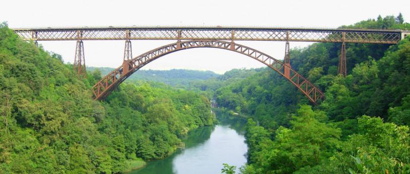 Ponti di ferro, opere dell'uomo - in Lombardia