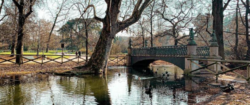 Il Parco Sempione e la Dama Velata