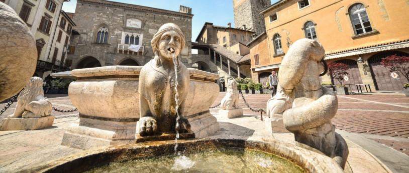 Le fontane, specchi d'acqua delle città lombarde