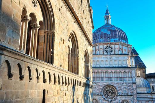 Churches Bergamo, religious tourism