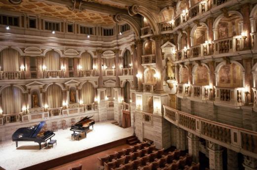 Theater in Mantua, Lombardei zum Besichtigen