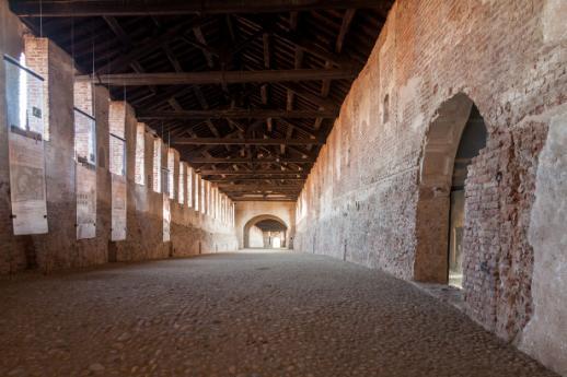 Schlösser in Pavia, Lombardei zum Besichtigen