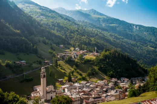 Boroughs Sondrio, unveiling Lombardy