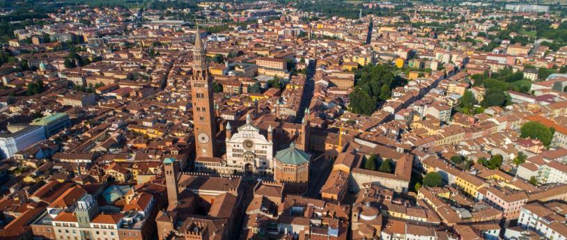 Cremona vista dall'alto