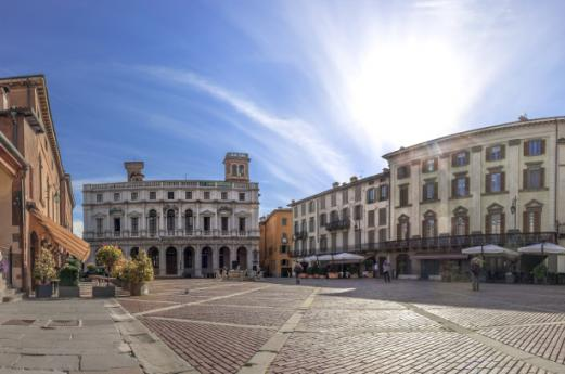Bergamo Città Alta (Ville Haute)