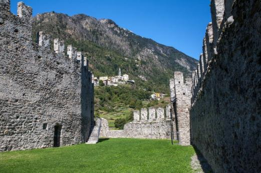A journey into the past among castles in Valtellina