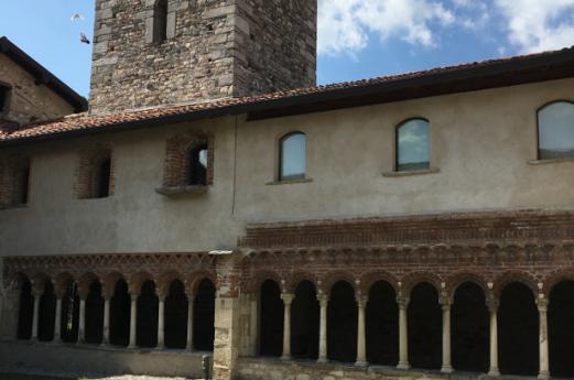 L'arte monastica del Chiostro di Voltorre