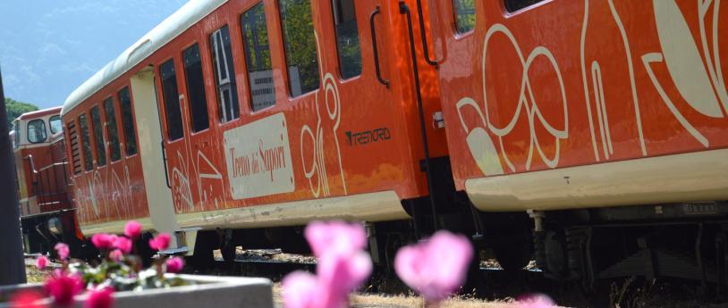 """De viaje en el """"Treno dei Sapori"""""""
