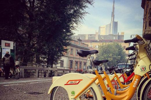Milan by bike