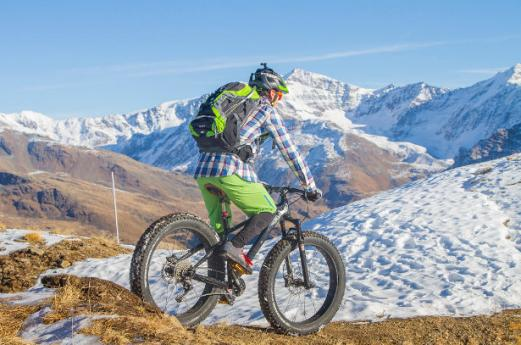 Fat Bike in Valtellina, great fun at any location and time