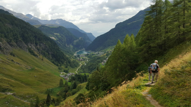 Coira e Via storica dello Spluga