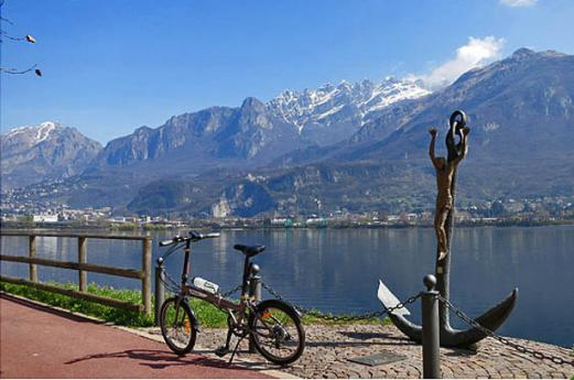 Lecco's Brianza by bike along the lakes ringway