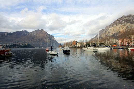 Between two lakes: Garlate and Olginate