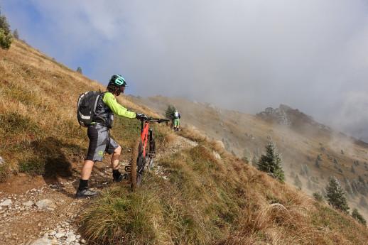 In bici in Presolana