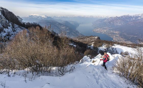 Da Valmadrera all'Alpe di Pianezzo