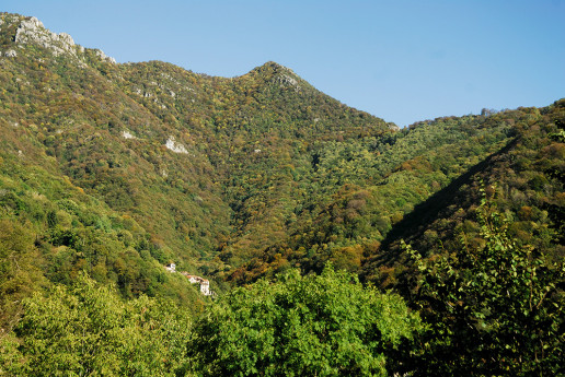 Sul Monte Spedone verso Nesolio
