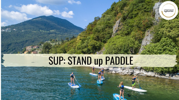 SUP: STAND UP PADDLE