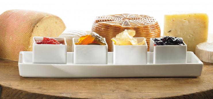 Degustazione di prodotti Le Tamerici con formaggi