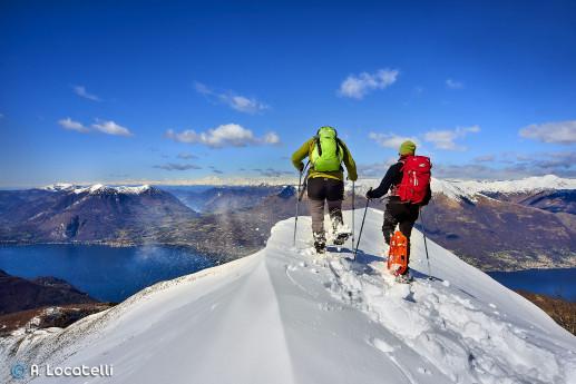 Ciaspolata Alpe Giumello e Monte Muggio con guida