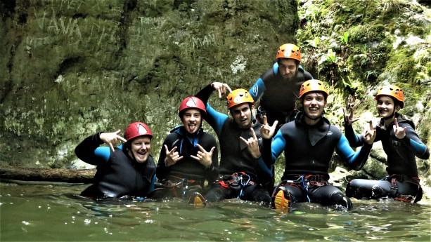 Canyoning,... di estremo solo il divertimento!!!