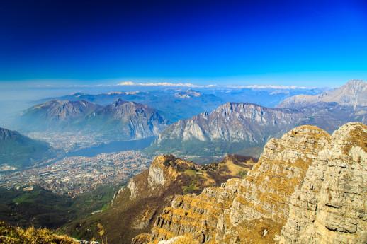 Escursione sulle montagne lecchesi