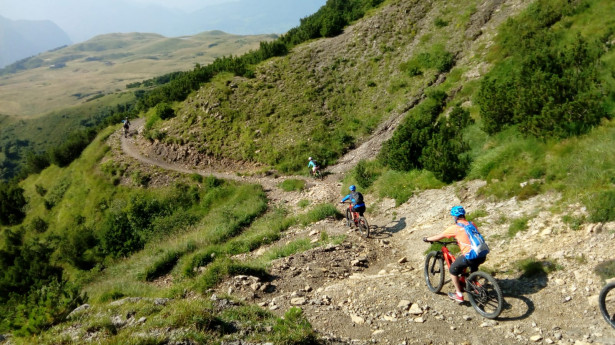 MTB FREERIDE: Full-day high mountains