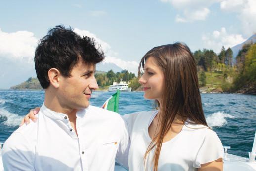 Tour in barca Abbazia di Piona.