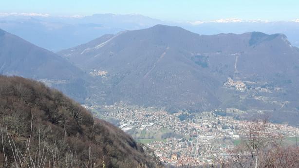Trekking a 1100 metri di altitudine
