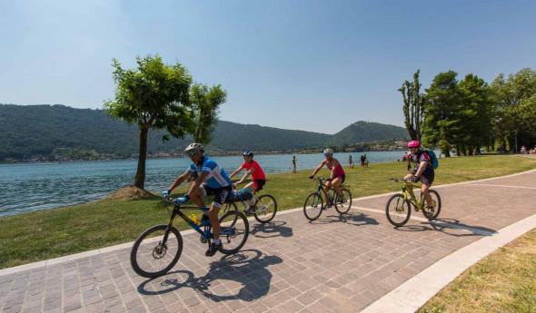 E-bike tour al lago d'Iseo (Pisogne/Sulzano) e Montisola
