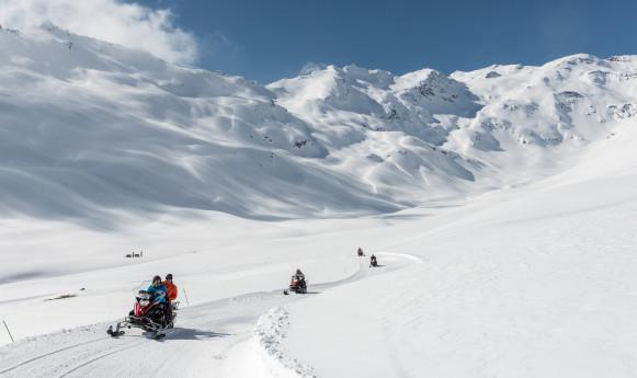 Tour in motoslitta a Madesimo