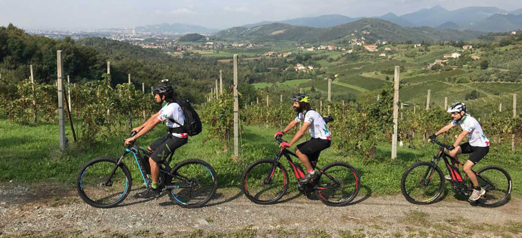 E-Bike Tour Colline del Moscato di Scanzo