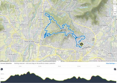 Upper Bergamo in eMTB