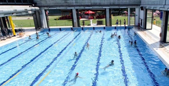 Nuoto libero alle piscine di Ponte S. Pietro
