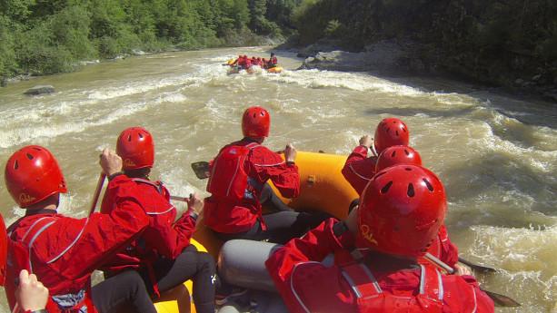 Rafting sul Brembo