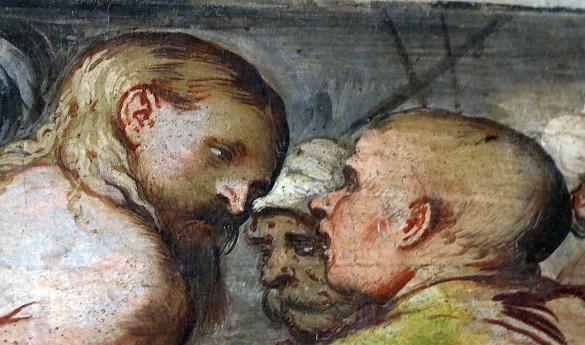 Dritto negli occhi: Romanino a Pisogne