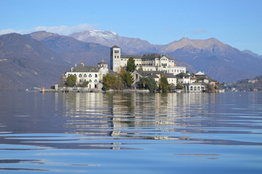 Romantico lago Orta