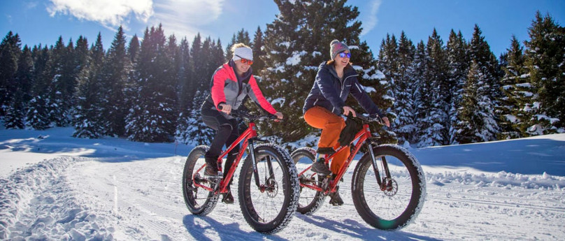 Scopri la Valmalenco in sella a una fat bike