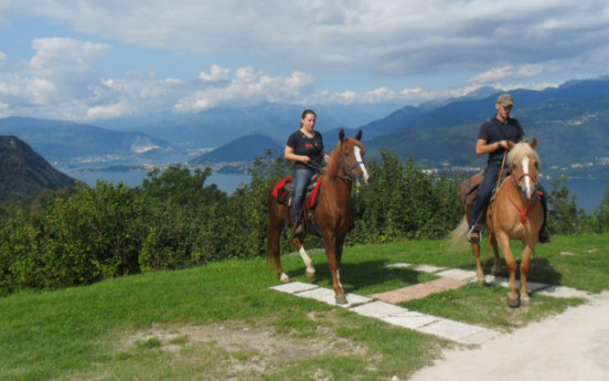 Weekend a cavallo, tra laghi e monti - Cassina Piatta