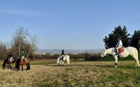 Weekend a cavallo sul lago di Varese ASD Scerèe