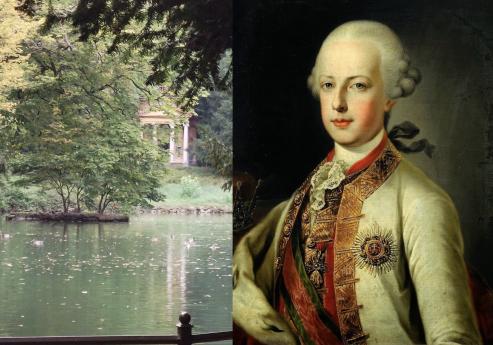 Il giardino all'inglese nella Villa Reale di Monza