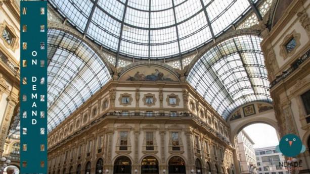 La storia della Galleria Vittorio Emanuele II narrata da Giovanna Ferrante – Incontro Virtuale