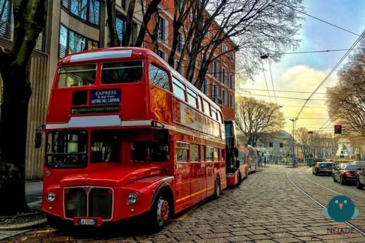 Bollicine Bus Tour, a Milano in London Bus