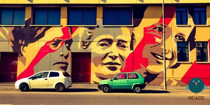 Milano Street Art Tour, quartiere Ortica