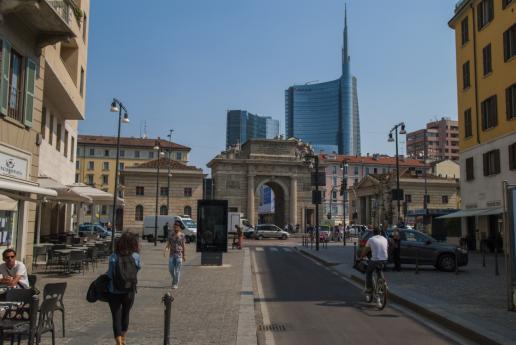 """Milano, """"città che sale"""": il Quartiere Porta Nuova"""