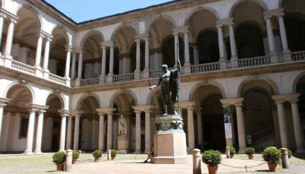 Quartiere di Brera e Pinacoteca.