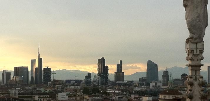 Sempre più in alto • il nuovo profilo di Milano