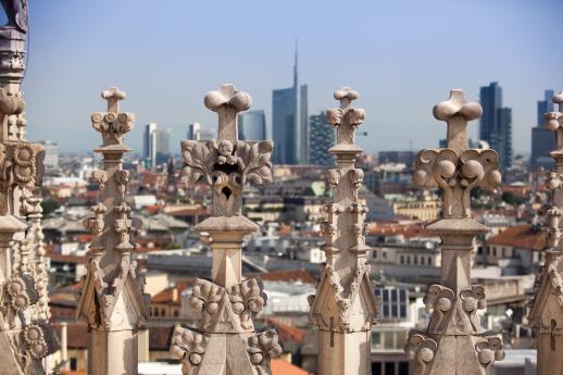 Visita guidata con degustazione sui tetti di Milano