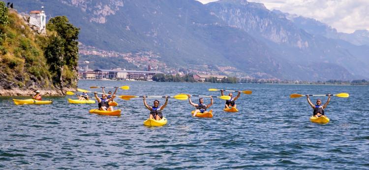 Tour guidato in canoa o sup alla scoperta degli Orridi